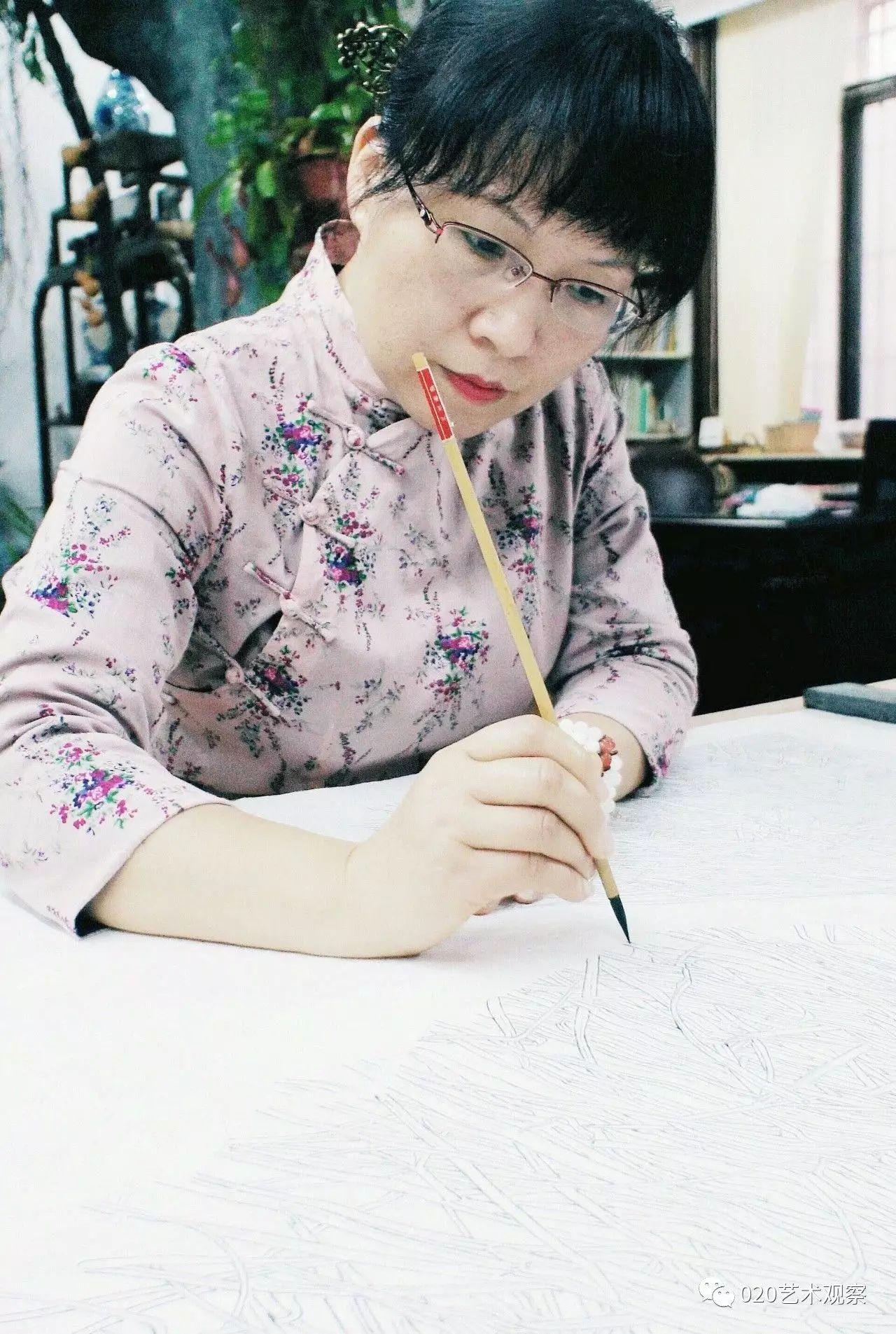 物以承移 林顺文 钟银安 易少英中国画作品展9月17日15 30鹤山市千里马美术馆开幕