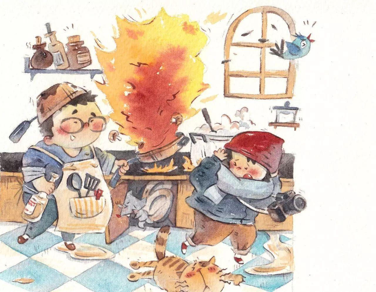 文化 正文  主题: 超萌儿童水彩手绘,带你回到小时候重温孩童时代的小