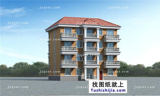 15X12米,字体四层大全建筑设计方案农村!丝房屋v字体图片