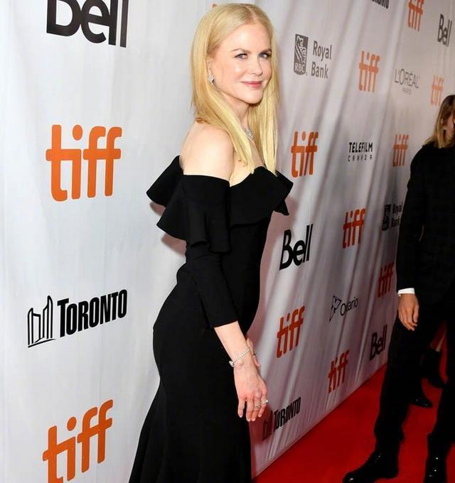 美版《触不可及》多伦多电影节首映 妮可·基德曼亮相