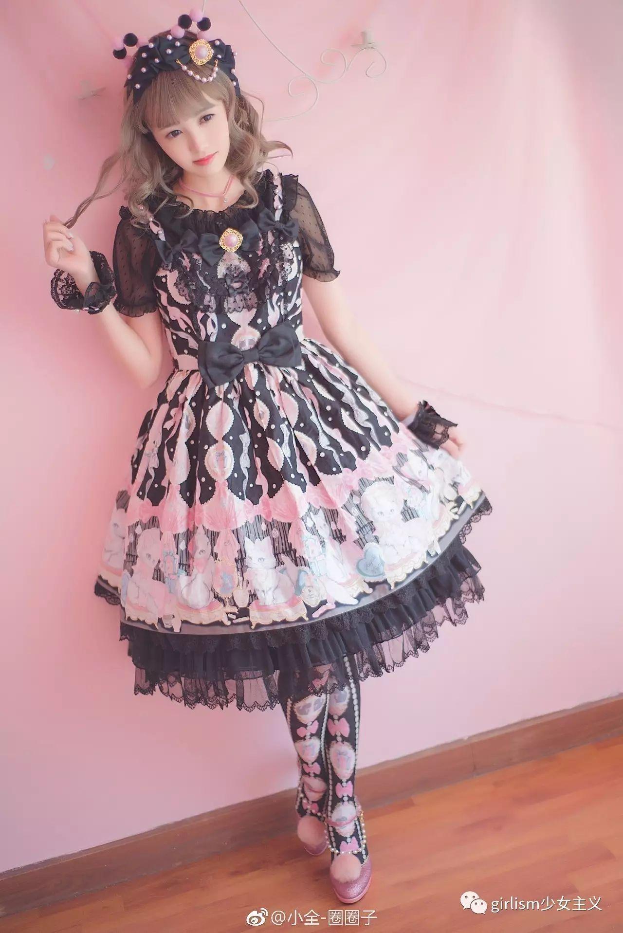【搭配推荐】Lolita每日穿搭(2017.9.16)