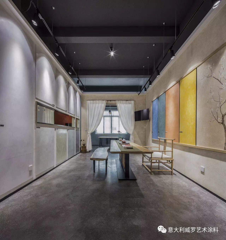 墙绘 体现中式美 温州威罗代理商----黄总 自身毕业于室内设计专业图片