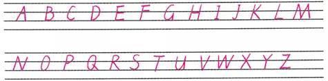 澳门新葡京网上娱乐:26个英文字母这么写考试至少多加20分!(附英语48个音标发