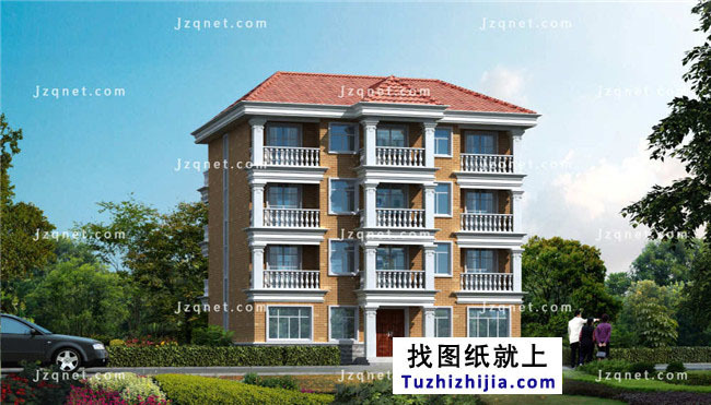 15X12米,大全四层方案建筑设计农村房屋!发型设计自我图片