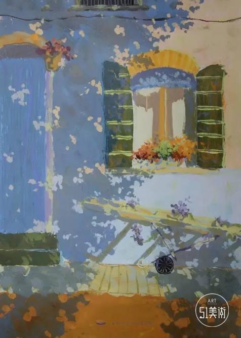 【试卷】清华美院2015年色彩静物高分卷,高清无码图片