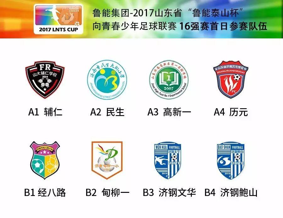 """鲁能集团-2017山东省""""鲁能泰山杯""""向青春少年足球联赛图片"""