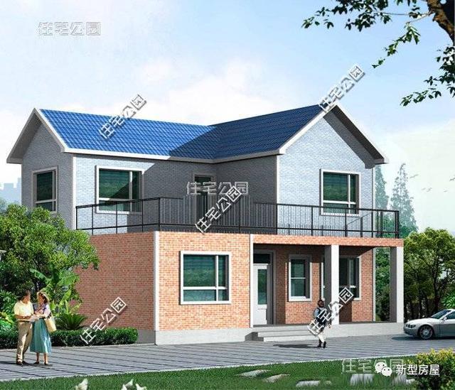 新农村自建房16x10米,主体30万建起,真的很接地气!
