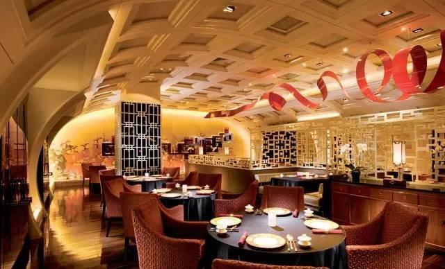 餐饮大厅设计图