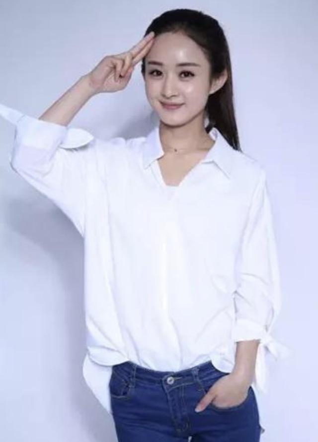 赵丽颖获年度最土女明星头衔,机场崩溃大哭!