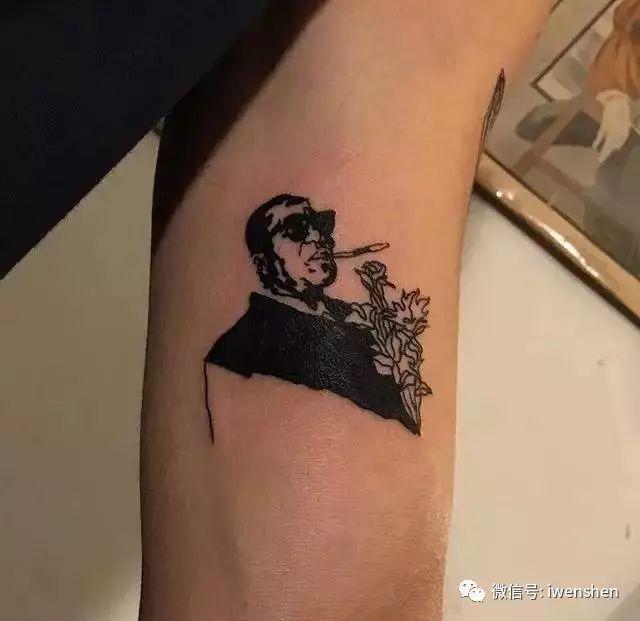 暗黑系女人纹身手稿分享展示
