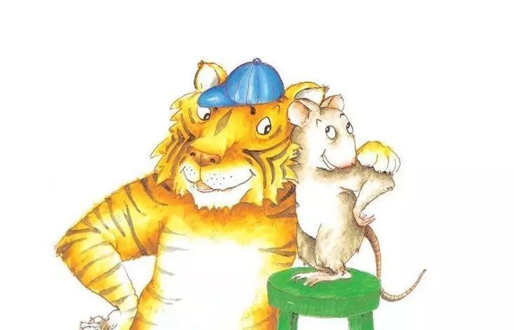 【伊仕顿晚安故事】小老鼠和大老虎