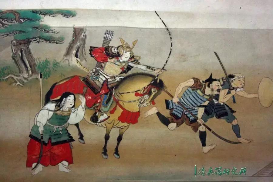 日本传统绘画_16世纪日本传统绘画中展现的身着大铠的武士