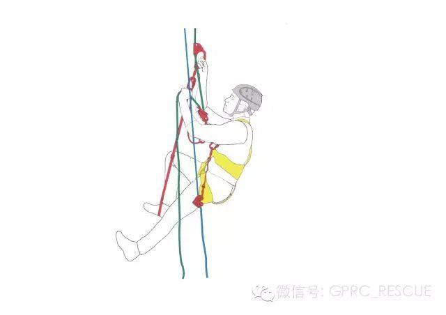 防高空坠落安全绳攀爬系统
