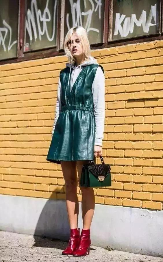 卫衣搭裙子最全教程,美的不止一点点!
