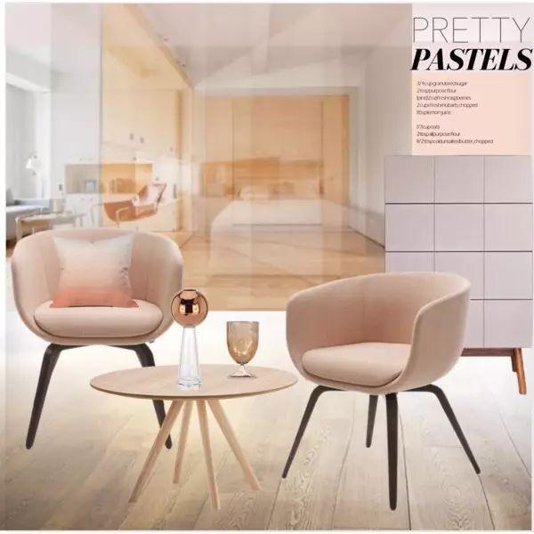 手绘椅子设计排版