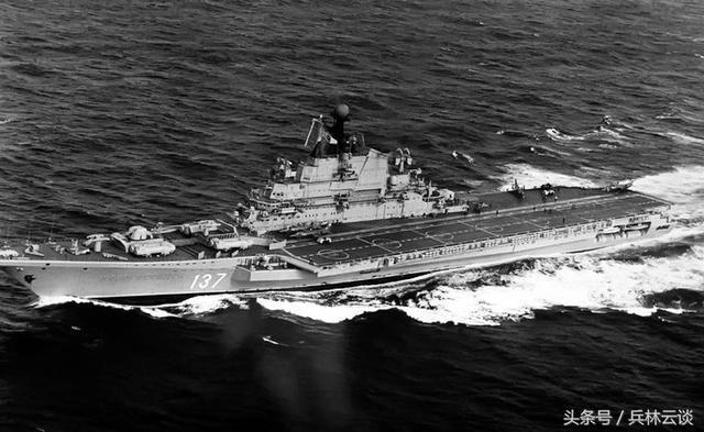 印度维克拉玛蒂亚号_苏联曾经拥有过众多航母,顶峰时代,航母技术已经不输美国