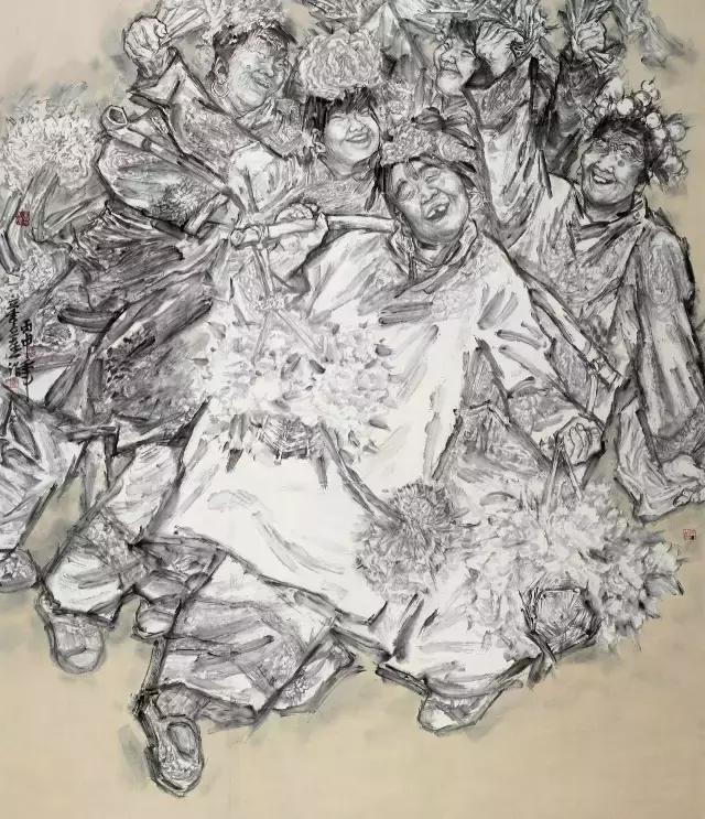 古代战争人物画