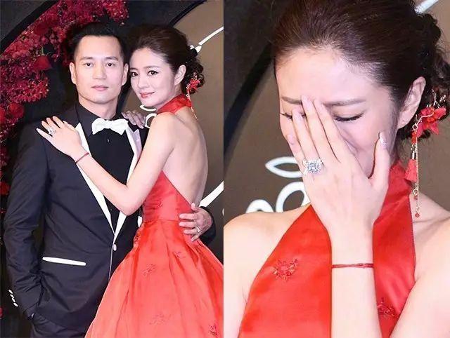 李晨送范冰冰的巨型求婚鉆戒閃瞎眼,女明星的婚戒沒有圖片