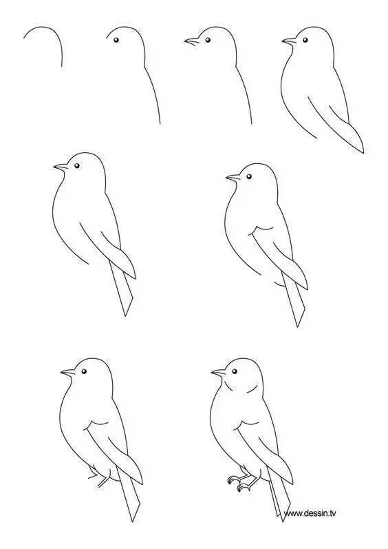 原来简笔画,真的很简单呢