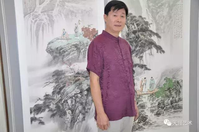 """天津市文物公司""""喜迎十九大 共圆中国梦""""公益绘画作品"""