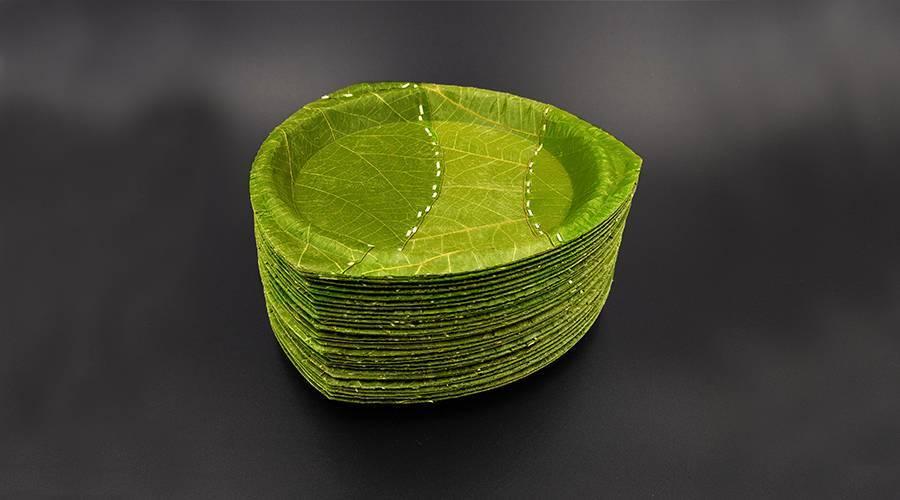 德国人又开挂了,用树叶代替塑料做出了世界上最环保的一次性餐具!