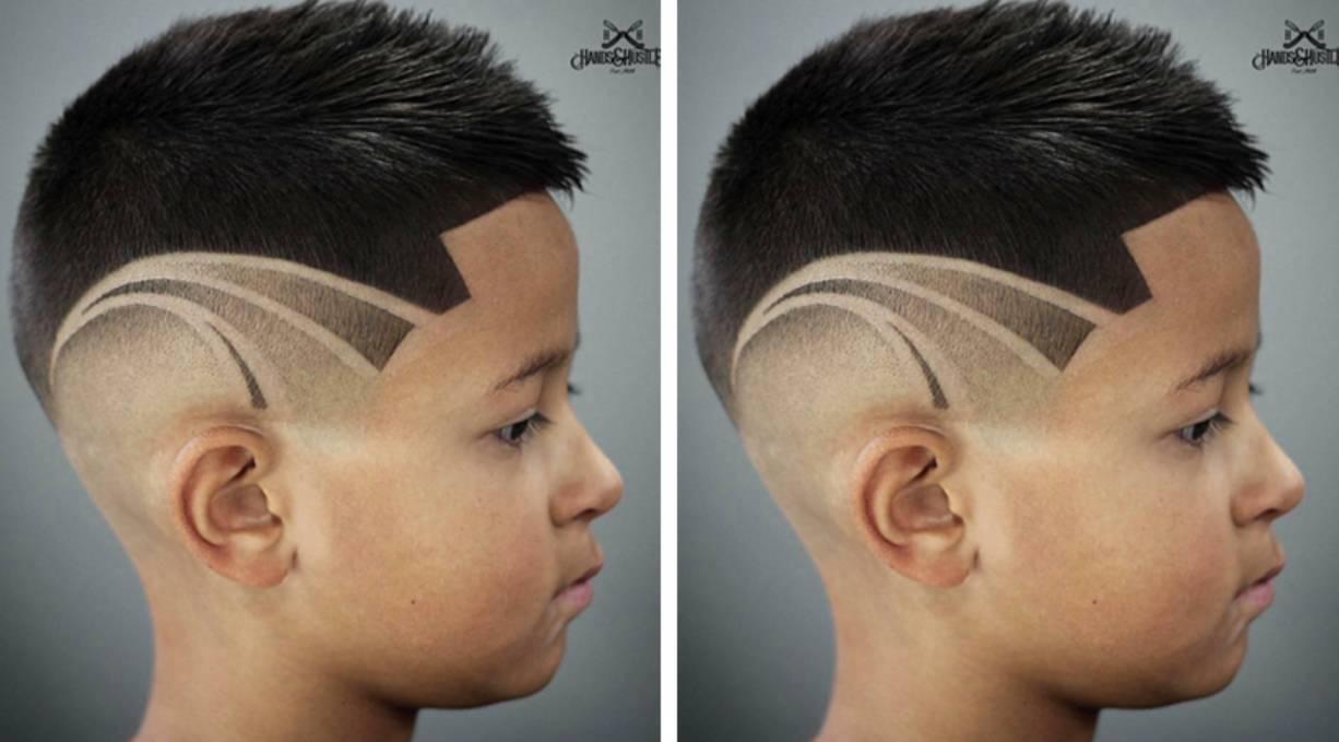 图片雕刻男孩,家有发型就应该剪空气刘海齐肩中短发发型儿童2015女图片