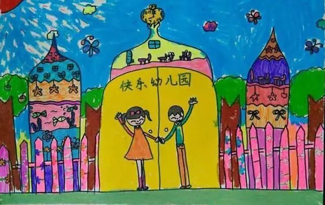 【邀请】画出最美幼儿园的小朋友,跟着张报君去伊顿皇家领奖吧!图片