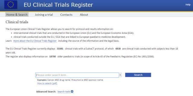 欧盟临床试验
