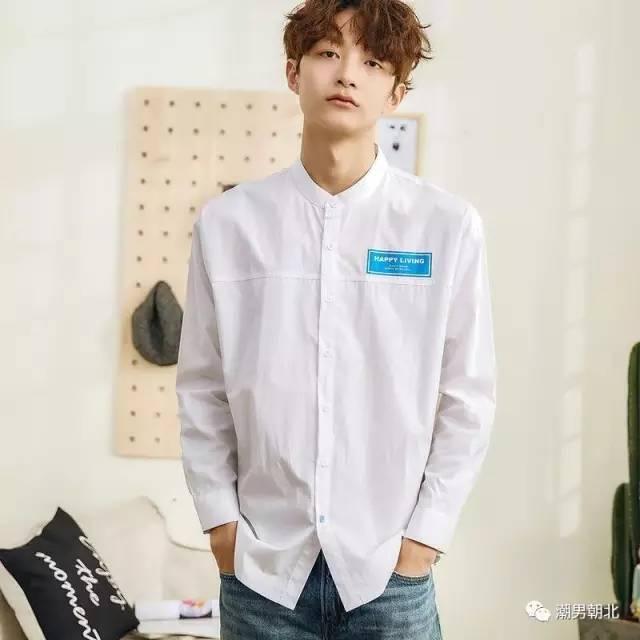 男生常见款衬衫的搭配方式,换季换出帅气!