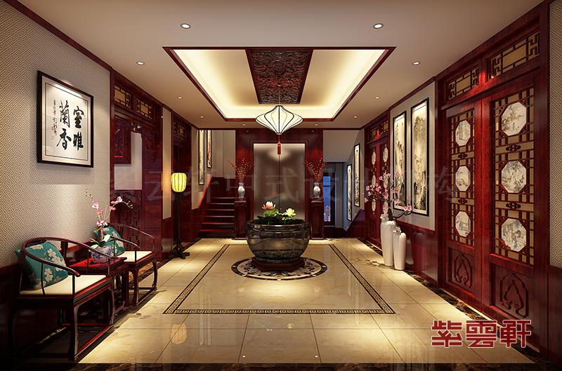 如何打造中式风格的小户型玄关?图片