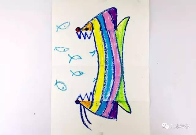 【体验课】美国翻转课堂创意美术课:漂亮的大嘴鱼图片