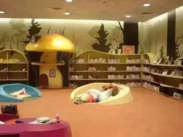 看看国外这些有创意的儿童图书馆,孩子想不爱阅读都难图片