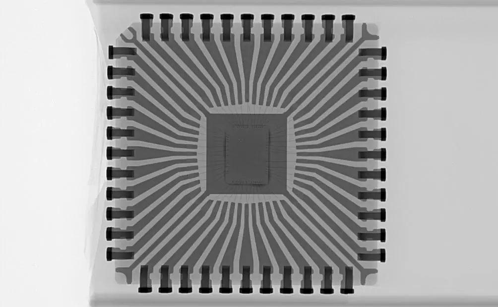 芯片的X-RAY下的景象