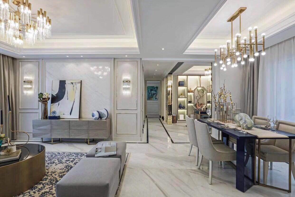 西安安装前十排名|轻奢法式壁挂,舒适,轻盈,新风时尚主义系统装修标准图片