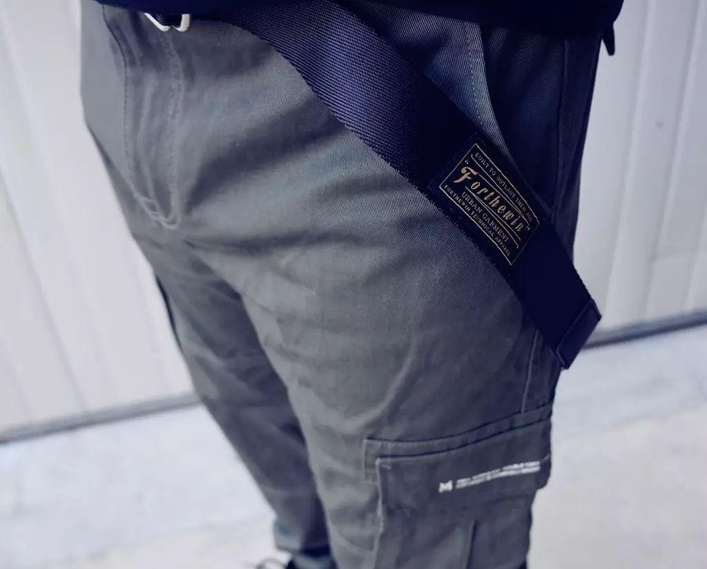 潮库福利  |  潮男小心机,帅气皮带每日搭配不能少。