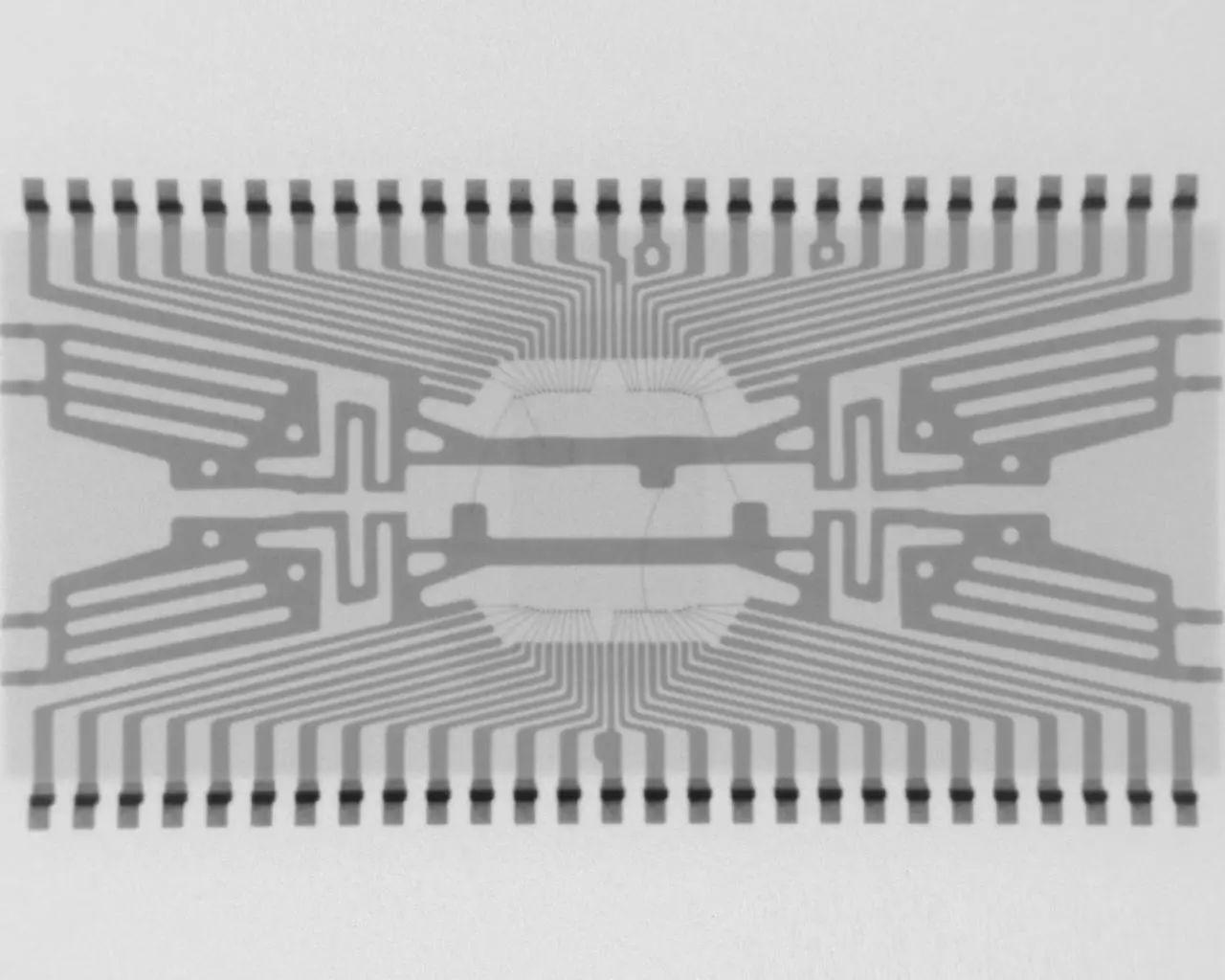 常用的SDRAM芯片在X-RAY下的景象