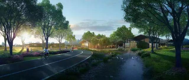 产业锦观绿道以及登山提梯道;产业发展类项目:建设特色小镇,建设森林图片