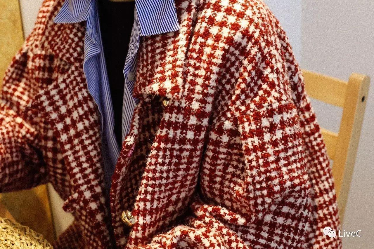 8套秋冬lookbook-挑战每套look有红色元素!