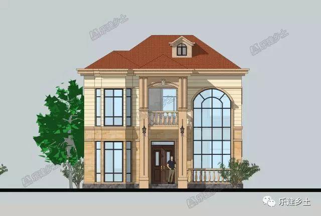 两间别墅图设计图纸