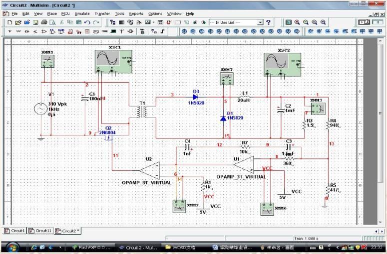 multisim10.0_文化 正文  国内外电路仿真软件有:saber,eda,ewb,multisim,matlab,sp