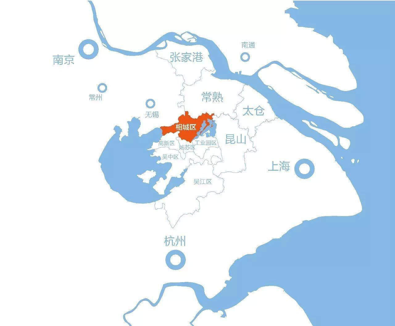 创新姑苏手绘地图