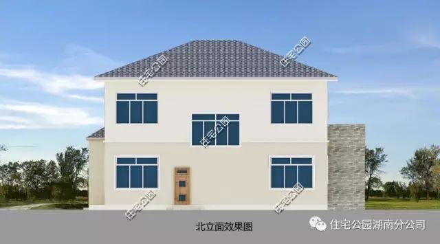 实用农村户型,11x13米简约现代别墅(全图 预算 视频展示)