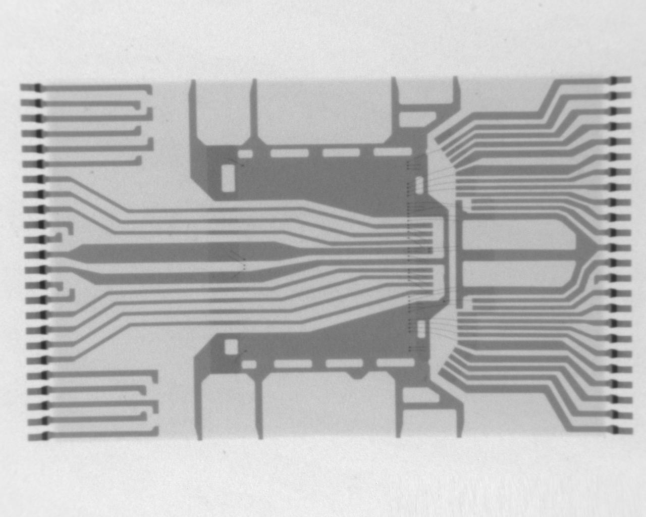 NAND FLASH芯片在X-RAY下的景象
