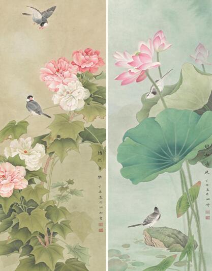 黄琳舒书画作品欣赏