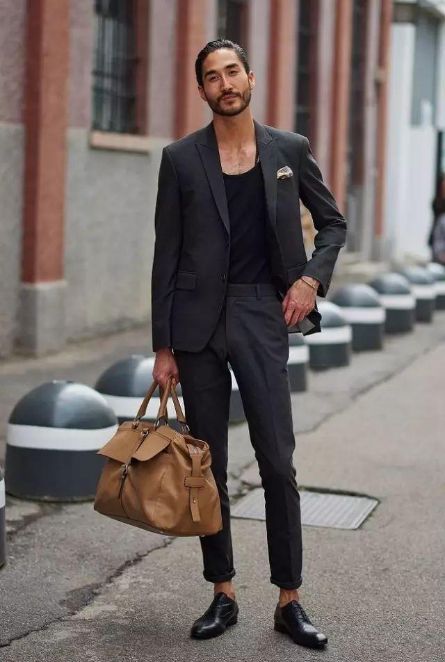 """雅痞男就是""""不正经"""",论西装的几种不常规穿法"""