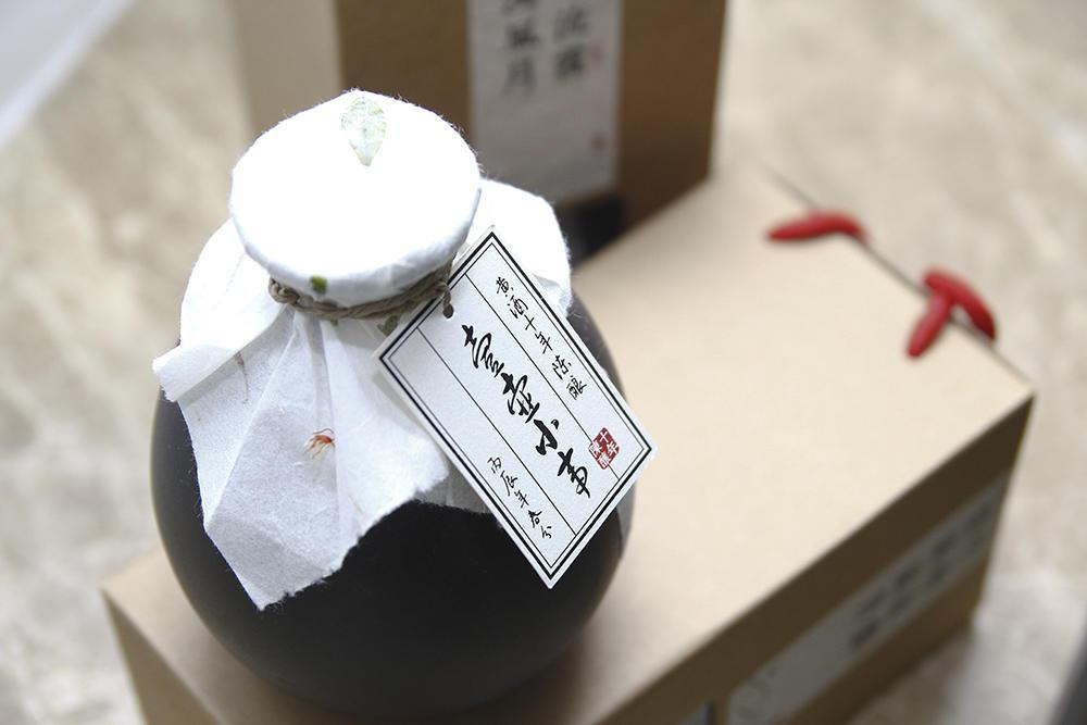 他为瓷坛注入一汪酒13款产品客户定制包装淘宝发售月均流水20万