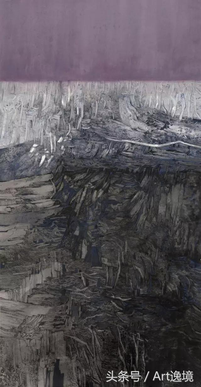 青年畫家|李課山水畫國展獲獎作品欣賞圖片