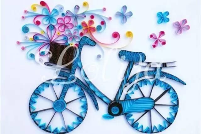 儿童手工制作自行车,效果绝对震撼!收藏吧!