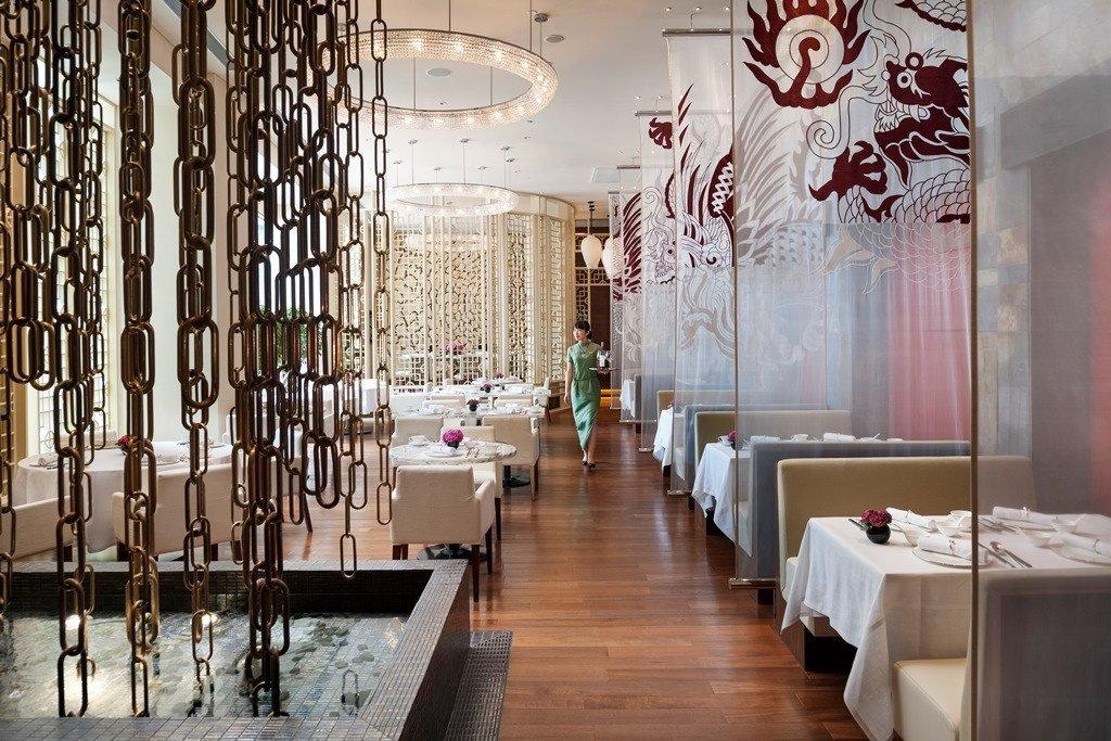 上海浦东文华东方酒店中餐厅雍颐庭蝉联《米其林指南上海2018》颁发的一星殊荣