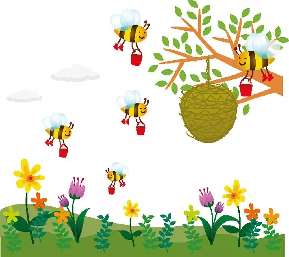 周三故事:三座房子里的小蜜蜂